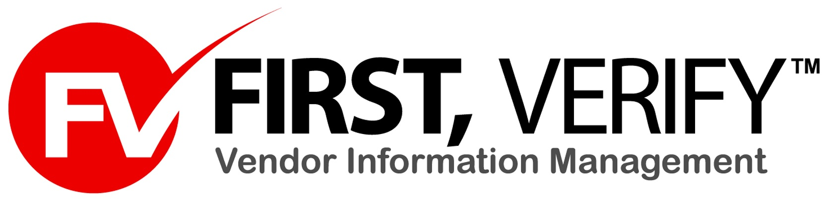 First, Verify - Logo